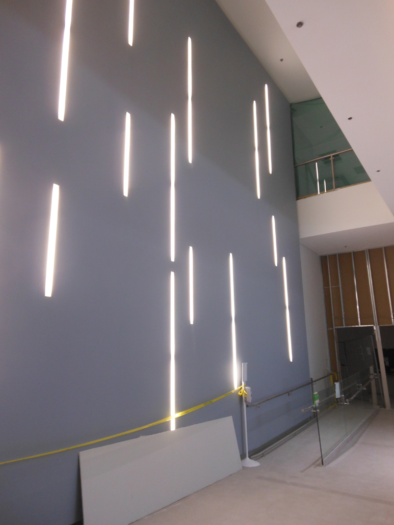 The feature lightwall