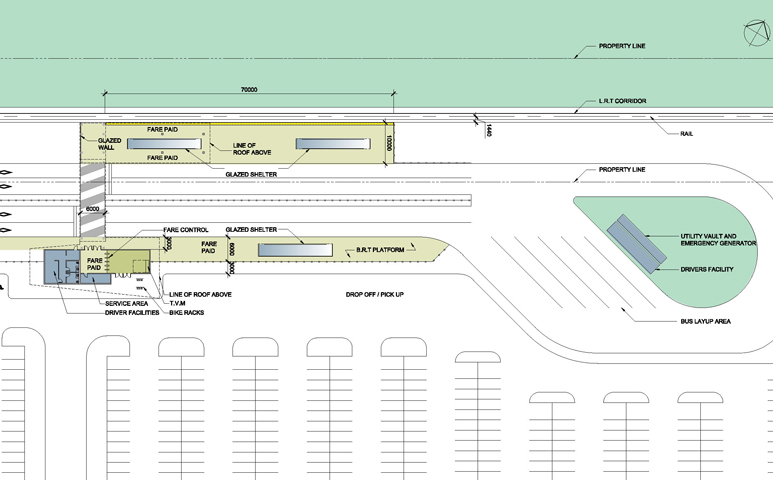 Bowesville Station - Plan